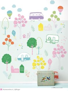 Eijffinger + RICE = Happy Walls #wallpaper #behang #interior #interieur #woontrends #wonen #inspiratie