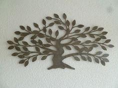 Wanddecoratie metaal boom Betula - Muurdecoratie Bomen - WANDDECORATIE METAAL | DEKOGIFTS