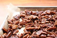 Spicy Maple Pecans by teandcookiesblog #Pecans #Maple