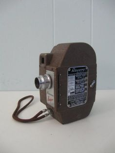 Collectible antique revere video camera 80 years old. - Swargate