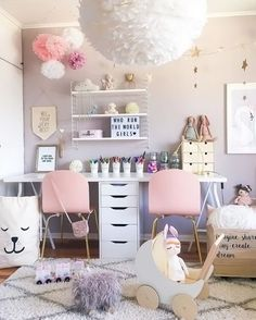 A pretty little girls room