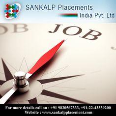 Job opportunity  #sankalpplacement #opportunity #jobhunt #career