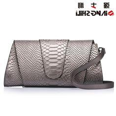 38.07$  Buy here - https://alitems.com/g/1e8d114494b01f4c715516525dc3e8/?i=5&ulp=https%3A%2F%2Fwww.aliexpress.com%2Fitem%2F27-5x14CM-2016-spring-and-summer-new-serpentine-clutch-bag-leather-handbag-European-and-American-fashion%2F32663992544.html - 27.5x14CM 2016 spring and summer new serpentine clutch bag leather handbag European and American fashion women clutch dinn A2473