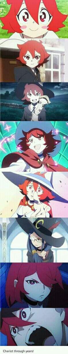 Little Witch Academia, Chariot Du Nord, Shiny Chariot, Professor Ursula Manga Anime, Anime Art, Lwa Anime, My Little Witch Academia, Little Witch Academy, Netflix Anime, I Love Anime, Magical Girl, Kawaii Anime