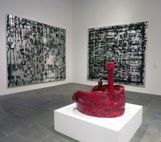 Whitney Biennial 2014 Part III - Jacqueline Humphries and Ruby Sterling
