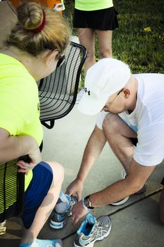 """""""My partner was confined to a wheelchair due to a neurological disease, but he truly enjoyed being there and pushing himself to get up every hill on his own."""" - Todd, Soles4Souls    S4S shoe distribution at Achilles International Nashville    giveshoes.org"""