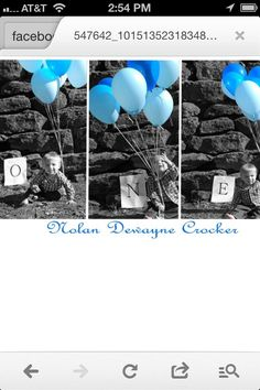 My sons 1 st bday pics