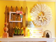 Spring and Easter Décor