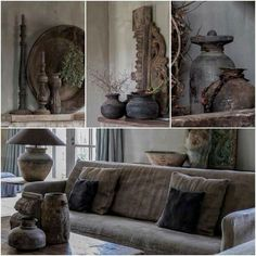 Beautiful Interior Design, Beautiful Interiors, Natural Living, Living Styles, Minimalist Living, Living Room Inspiration, Rustic Interiors, Home Decor Styles, Home Living Room