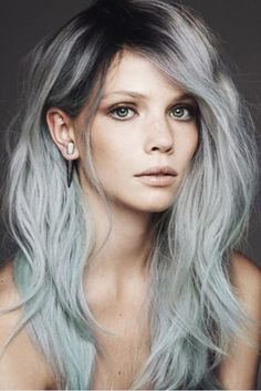 According to gray hair styles and haircuts stylists, application of a semi-permanent dye or hair color is not the best way of covering your hair.
