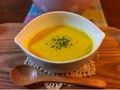 ミキサー不要☆簡単!牛乳でかぼちゃスープの画像