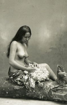 Tahitian Beauties, by Lucien Gauthier.