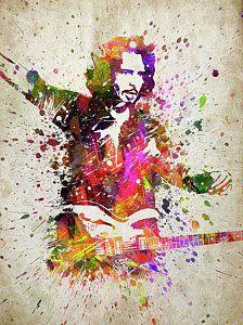 Chris Cornell Digital Art - Chris Cornell Portrait by Aged Pixel