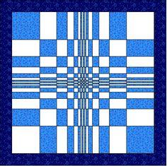 Fibonacci quilt block