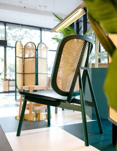 The Cane series lounge chair