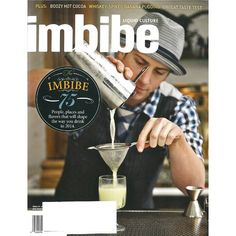 Imbibe Magazine Subscription - Your ultimate guide to liquid culture, from wine…