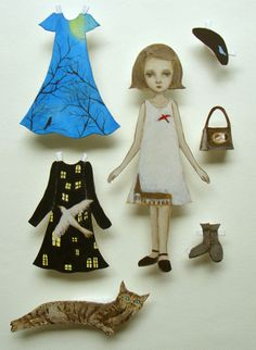 maki hino paper dolls