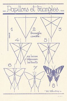 how to draw butterflies