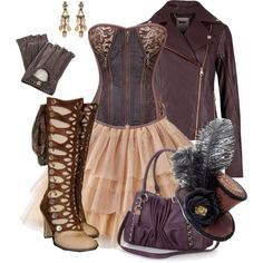 """SteamPunk"" by beng-gallo on Polyvore"