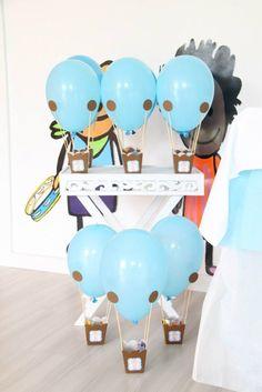 Balões...