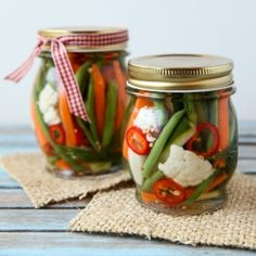 Capture the bounty of summer with this easy pickling recipe.