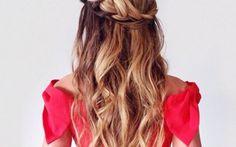 braided-crown waves hair via bmodish