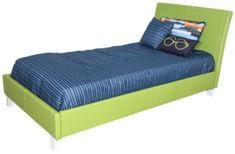 Standard Furniture Fantasia Green Twin Bed
