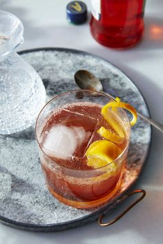 Aperol-Bourbon Fizz