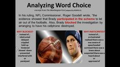 ANALYZING WORD CHOICE SCREENCAST (2:30 min) Shades of Meaning exercises: https://www.teacherspayteachers.com/Product/Shades-of-Meaning-1582762  NEWSELA articles (Brady): https://newsela.com/articles/deflategate-appeal/id/11397/ Screencast YouTube Link: https://www.youtube.com/watch?v=uwl22n_b_x8