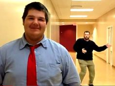 Hilarious! Teachers prank students in dance video   TODAY's Natalie Morales takes a look at a funny video that shows high school teachers performing dance moves behind their students, who were conned into doing fake interviews.