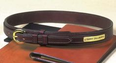 Fennell's leather belt