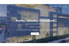 Participants in the Reality, Virtually, Hackathon sponsored by MIT Media Lab will create new applications for AR and VR technology.