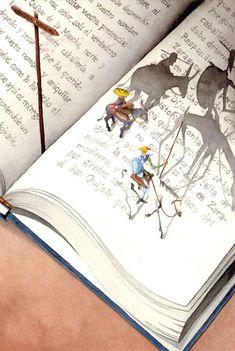 Don Quixote by David Guirao
