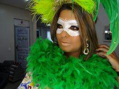 Inspiração de Make carnaval