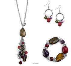 Just Jewelry Set In Stones Set