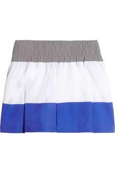 ADIDAS BY STELLA MCCARTNEY WOMAN TENNIS PERFORMANCE STRETCH-POLYESTER SKORT. #adidasbystellamccartney #cloth #