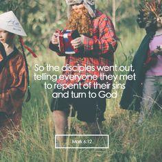 Mark 6:12