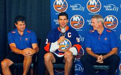 John Tavares becomes the 14th Captain in New York Islanders history 9/9/13