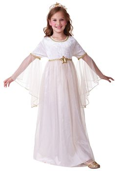 #Girls #childs angel christmas nativity fancy dress #costume outfit new 4 6 8 10,  View more on the LINK: 	http://www.zeppy.io/product/gb/2/131853191963/