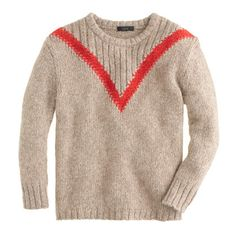 """Ribbed """"V"""" sweater - Pullover - Women's sweaters - J.Crew"""