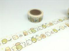fat animal tape 10M sumikko gurashi tape by StickersKingdom