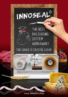 Welcome to the world of Innoseal® Europe B., manufacturer and distributor of the Innoseal® Sealer, the best bag closing systems worldwide. Best Bags, Choices, Good Things, Crystals, Shop, Crystal, Crystals Minerals, Store