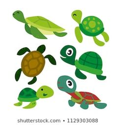 Activities For Kids, Turtle, Royalty Free Stock Photos, Preschool, Funny Pictures, Cartoon, Drawings, Illustration, Artist