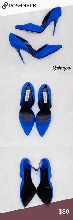 | new | suede pumps Suede Fits like a size 9 Steve Madden Shoes Heels
