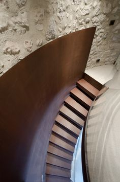 A new life for a little tower pr.aledolci&co ©martina mambrin #architecture #interiors #photography #gardalake #stairs #corten