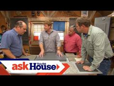 How to Build Custom Concrete Countertops | Ask This Old House - YouTube Concrete Kitchen Counters, New House Construction, Concrete Sculpture, Old Houses, Home Projects, New Homes, Building, Youtube, Diy