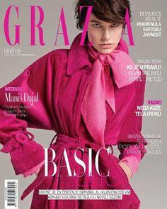 Grazia Magazine, Cover Photos, Vogue, Pink, Magazines, February, Goals, Fashion, Color Fashion