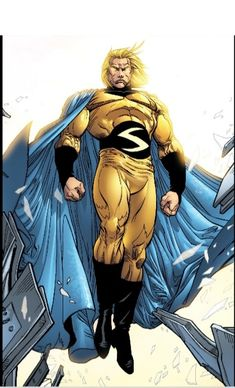 The Sentry: my favorite hero in the Marvel universe. Avengers Characters, Comic Book Characters, Comic Book Heroes, Comic Character, Comic Books Art, Game Character, Comic Art, Fictional Characters, Marvel Dc Comics