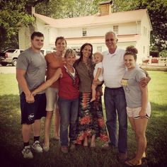 June 2015   Joey's mama and daddy and sister and her kids came from Indiana to be with us this weekend. Sweet family time
