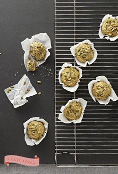 Fluffy Squash and Chia Muffins from Sarah Wilson's best-selling cookbook, I Quit Sugar. Pre-order your copy today! Sugar Free Recipes, Almond Recipes, Whole Food Recipes, Cooking Recipes, Healthy Recipes, Sugar Free Breakfast, Good Food, Yummy Food, No Sugar Foods